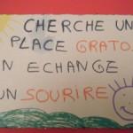 Coldplay à Bercy ou la naissance du coup de la pancarte