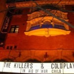 Chasse au billet gratos pour Coldplay and The Killers in London