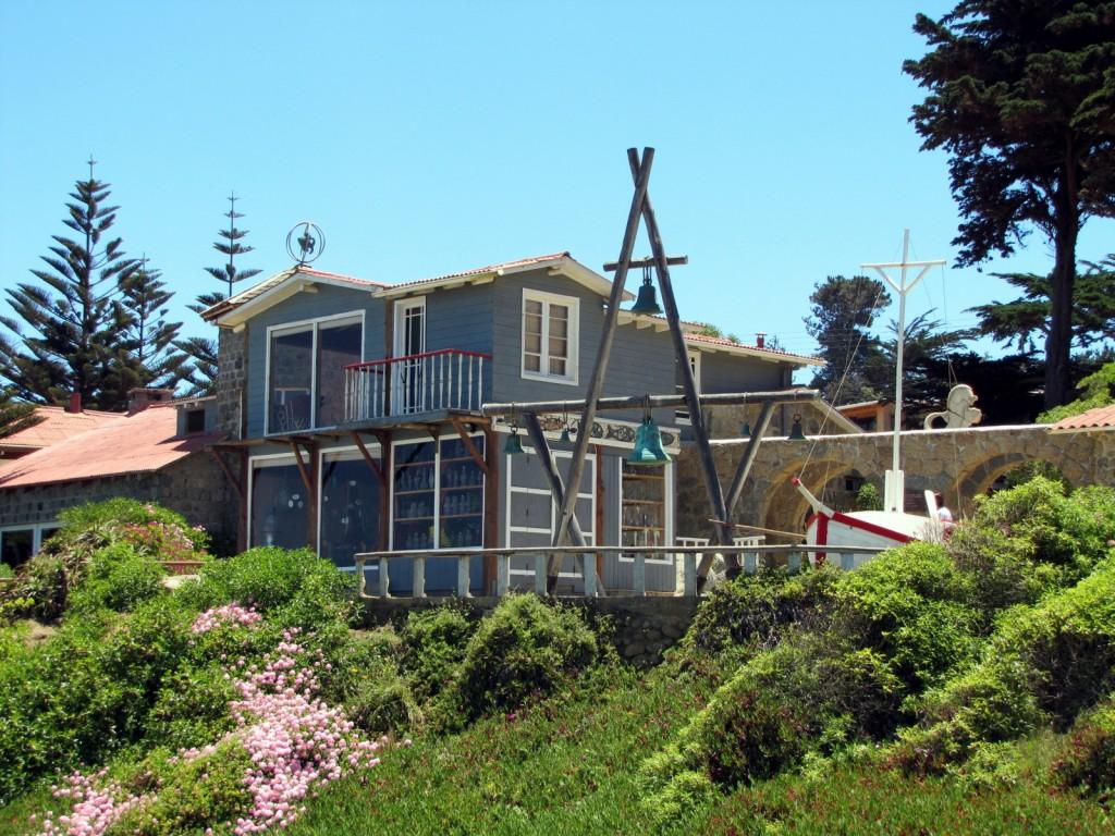 La maison de Pablo Neruda à la Isla Negra