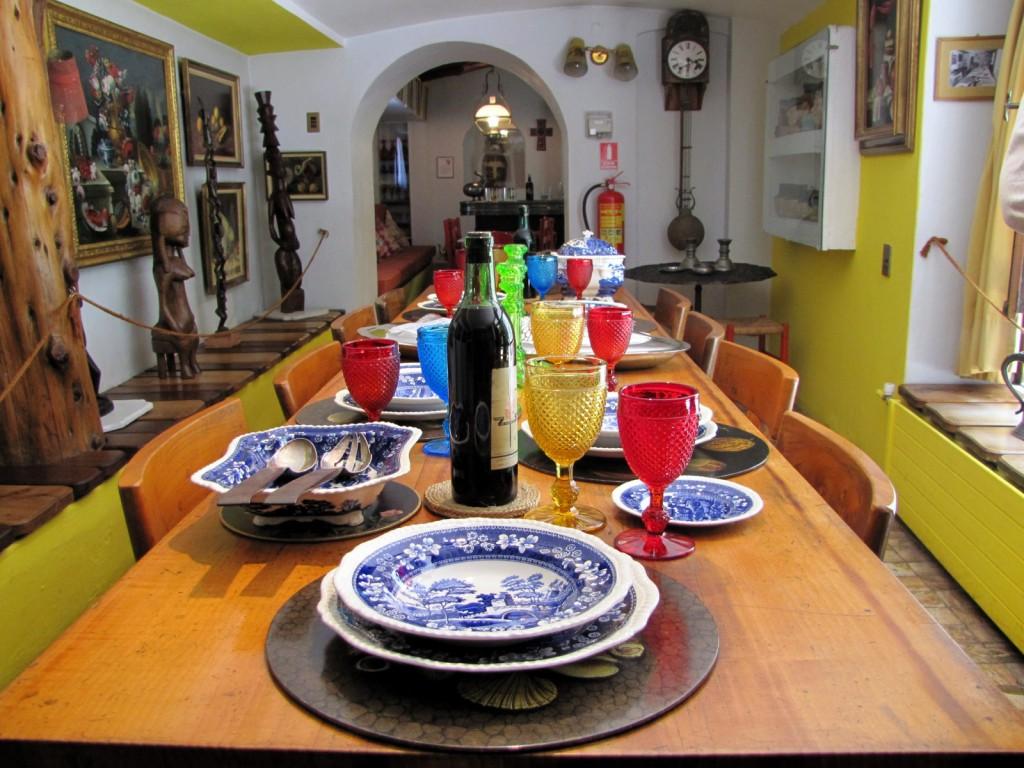 La maison de Pablo Neruda à Santiago du Chili, la Chascona