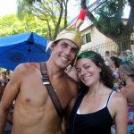 Instantané de tour du monde: carnaval à Rio, rencontre avec un gladiateur