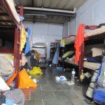 Brèves de dortoir: 20 lits, 35°C, 2 ventilateurs à Rio de Janeiro
