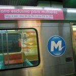 Des wagons de métro réservés aux femmes à Rio de Janeiro