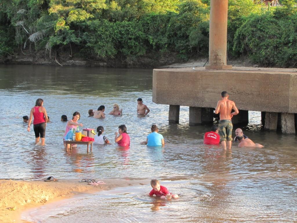 paraguay baignade