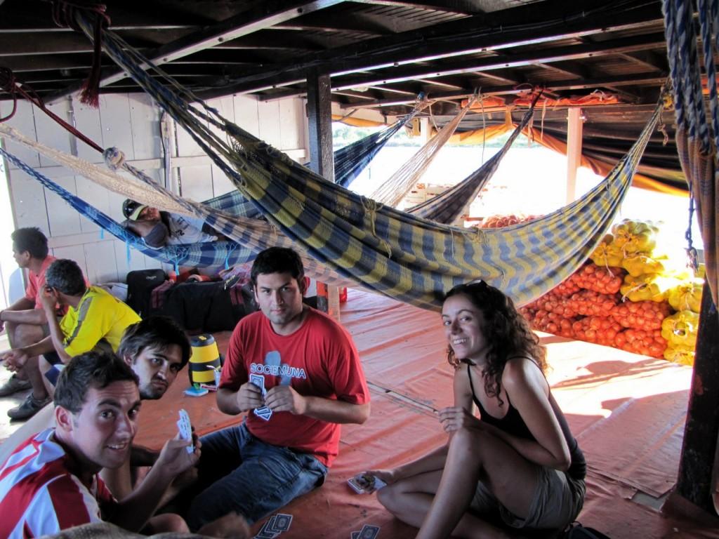 paraguay bateau cartes