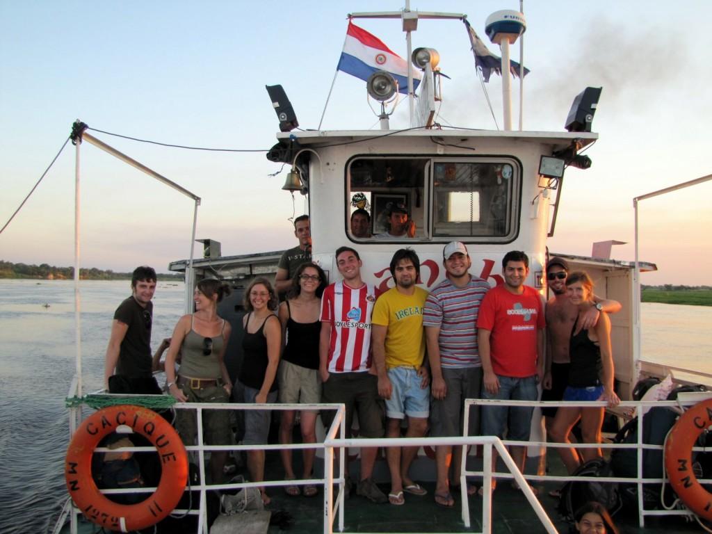 paraguay bateau rencontres
