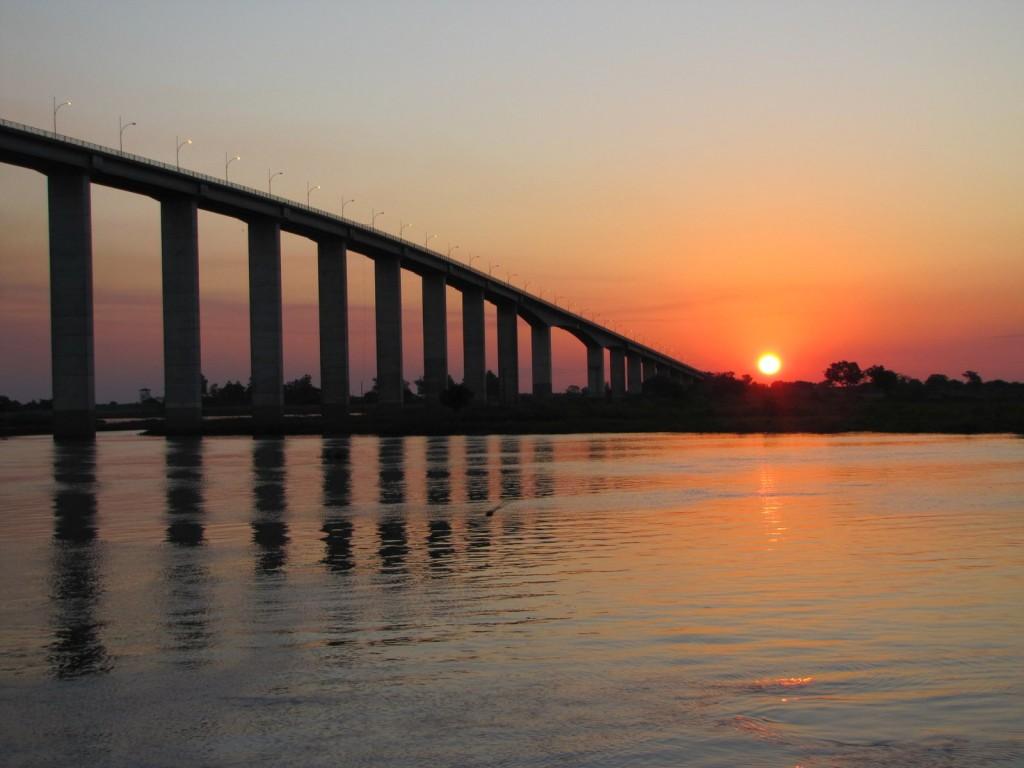 paraguay coucher soleil