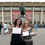 Un billet gratuit en échange d'un sourire pour U2 à Moscou