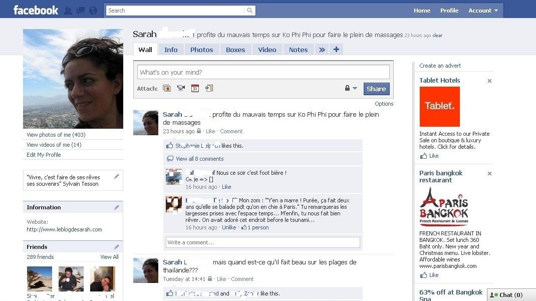 Tour Du Monde En Statuts Facebook