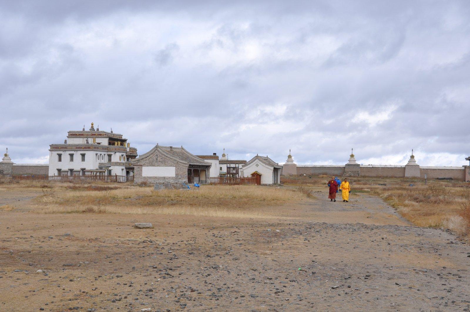 Monastère bouddhique à Kharkhorin