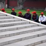 Chine: Bienvenue à Casquettes Land