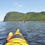 En kayak à travers les fjords du Québec