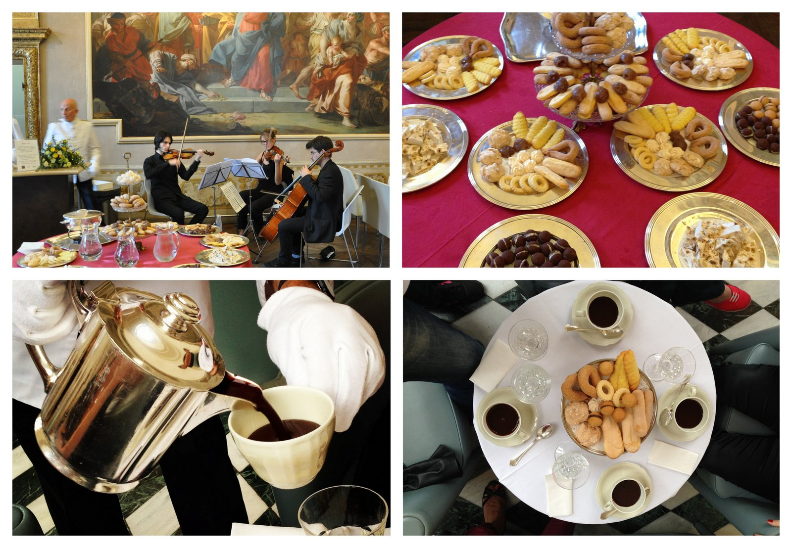Chocolat chaud à la mode royale au Palazzo Madama