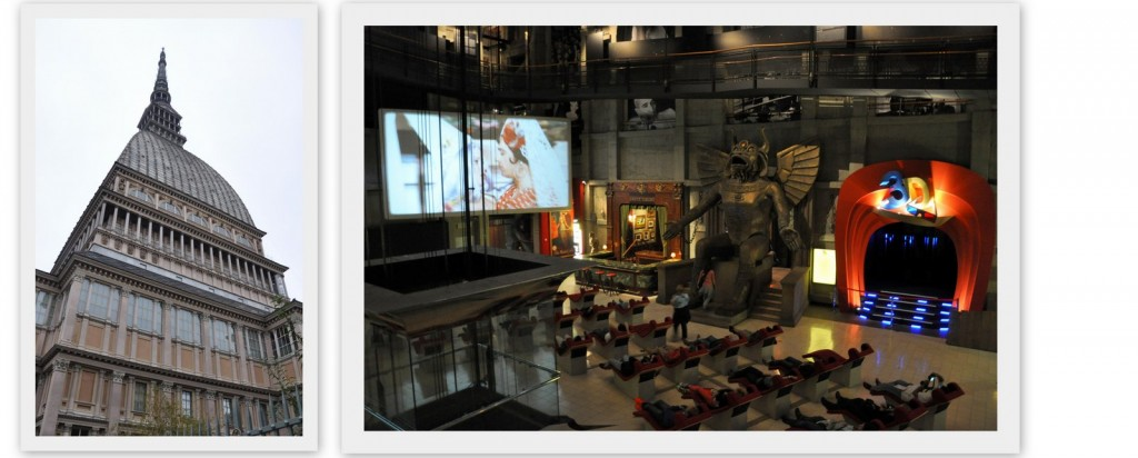 Le musée du cinéma à Turin dans la Mole Antonelliana