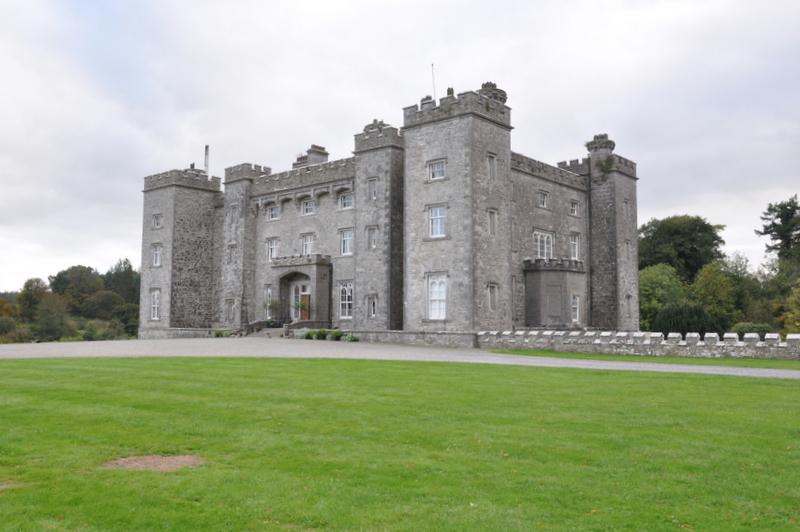 Le Slane Castle, dans la Boyne Valley, pas très loin de Dublin