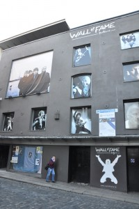U2 dublin wall of fame