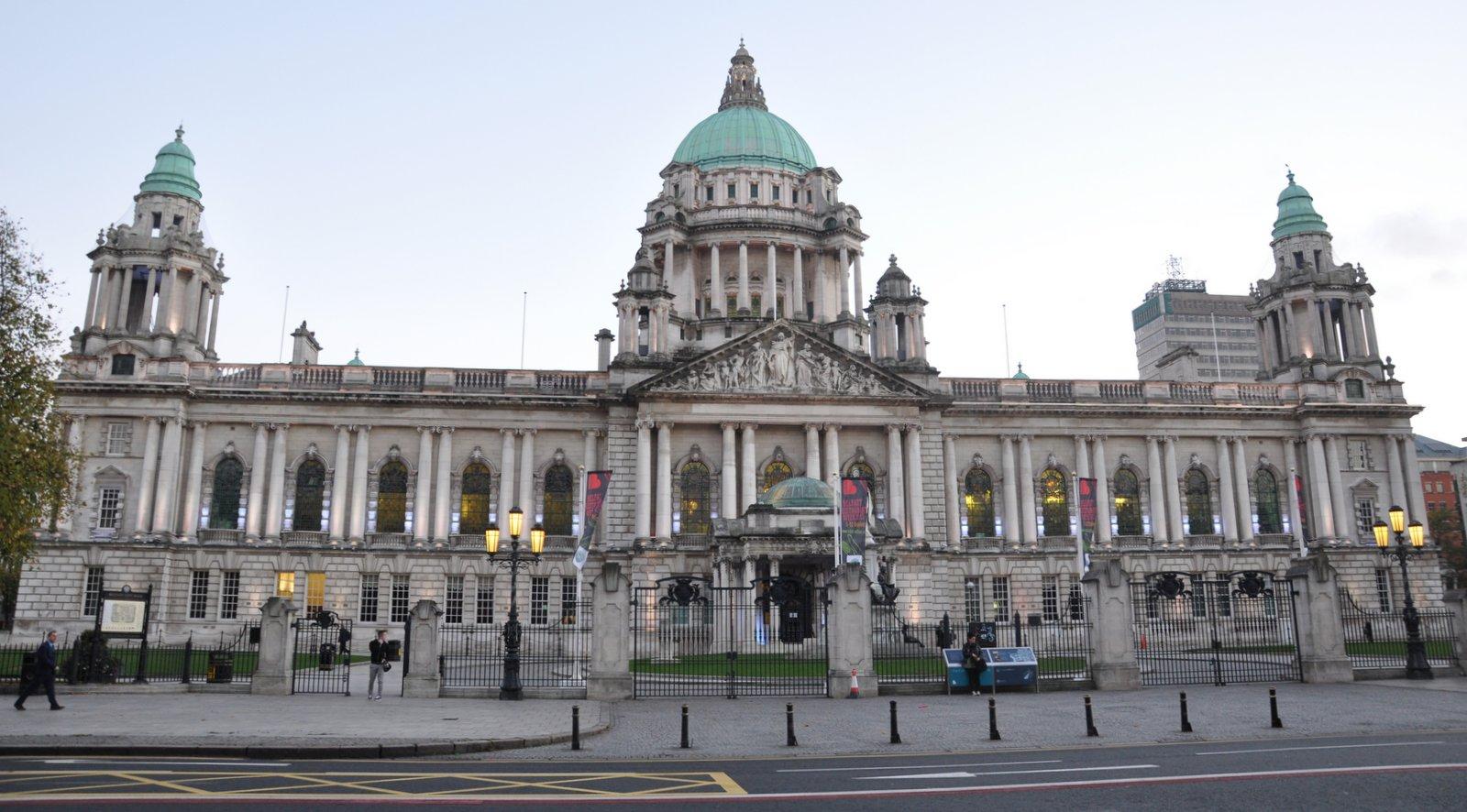 L'Hôtel de ville de Belfast, en Irlande du Nord