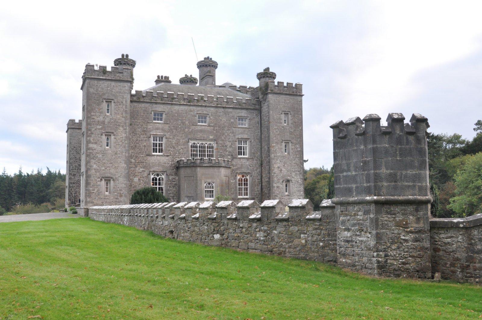 Le Slane Castle en Irlande