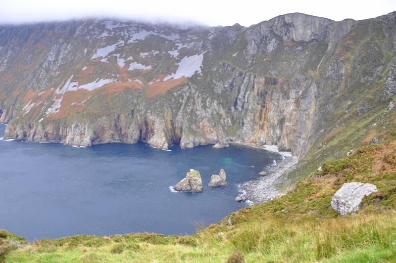 Les falaises de Slieve League dans le Donegal, au nord-ouest de l'Irlande