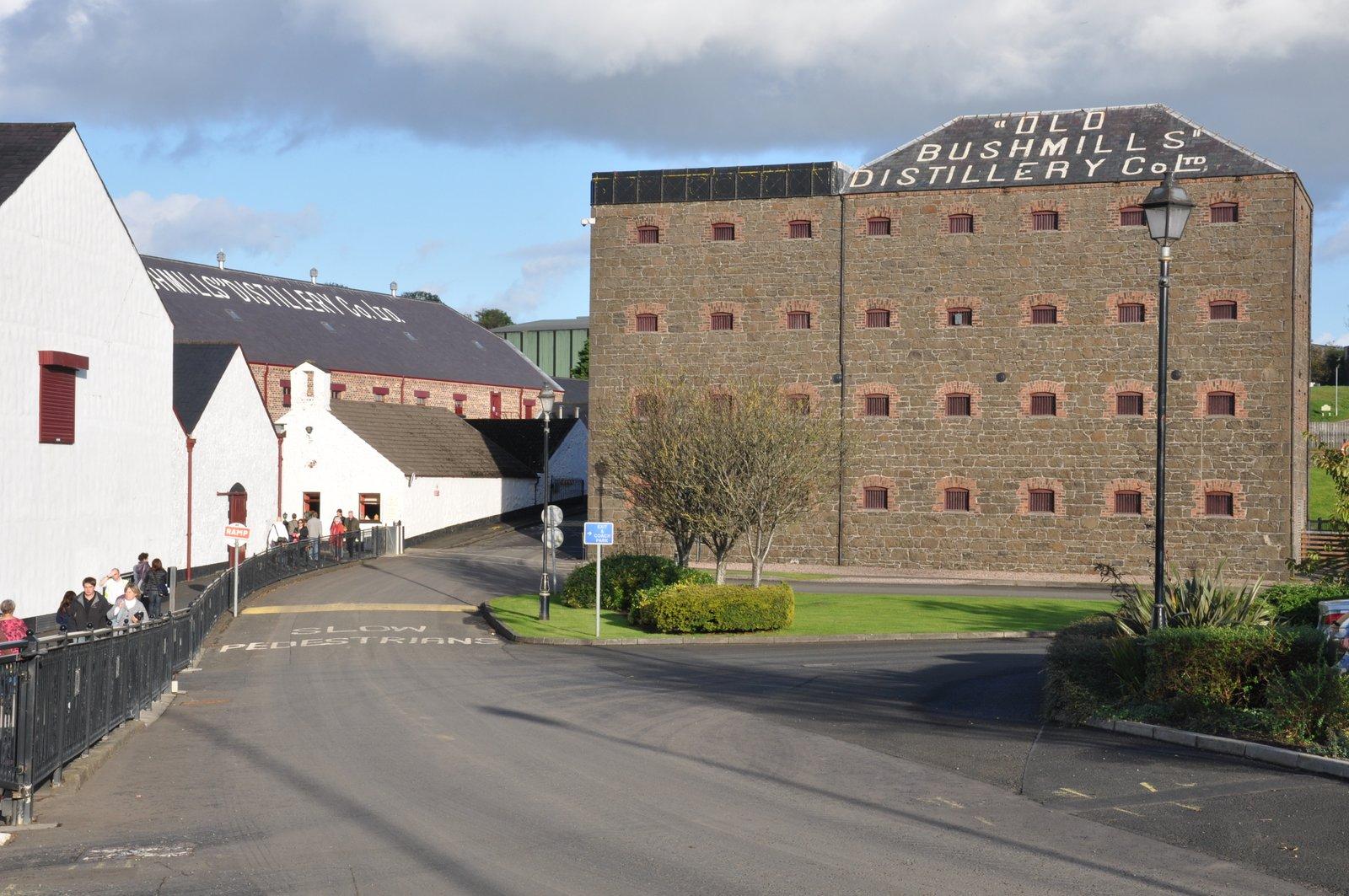bushmills distillerie