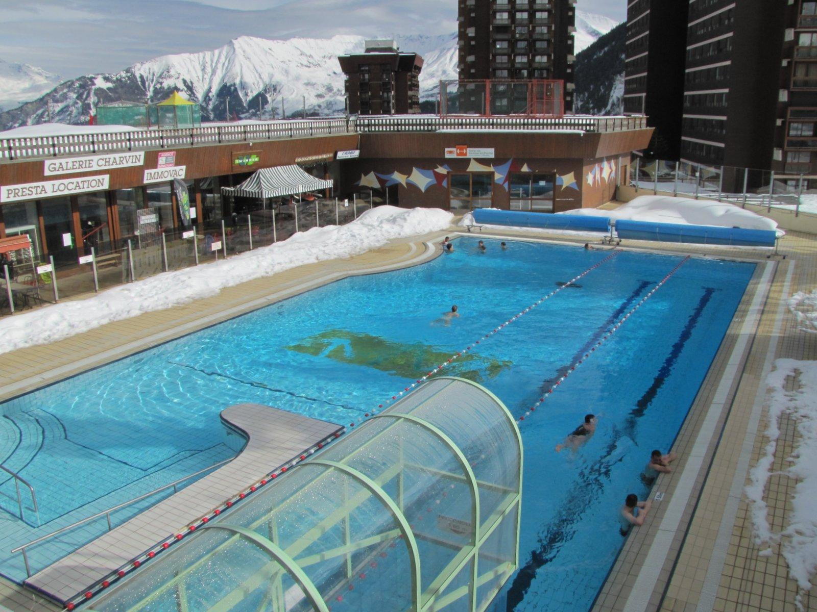 La piscine du Corbier