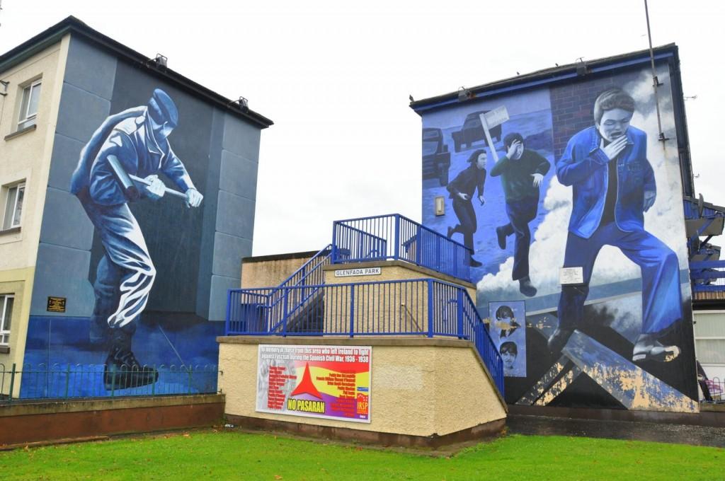 irlande nord derry mural