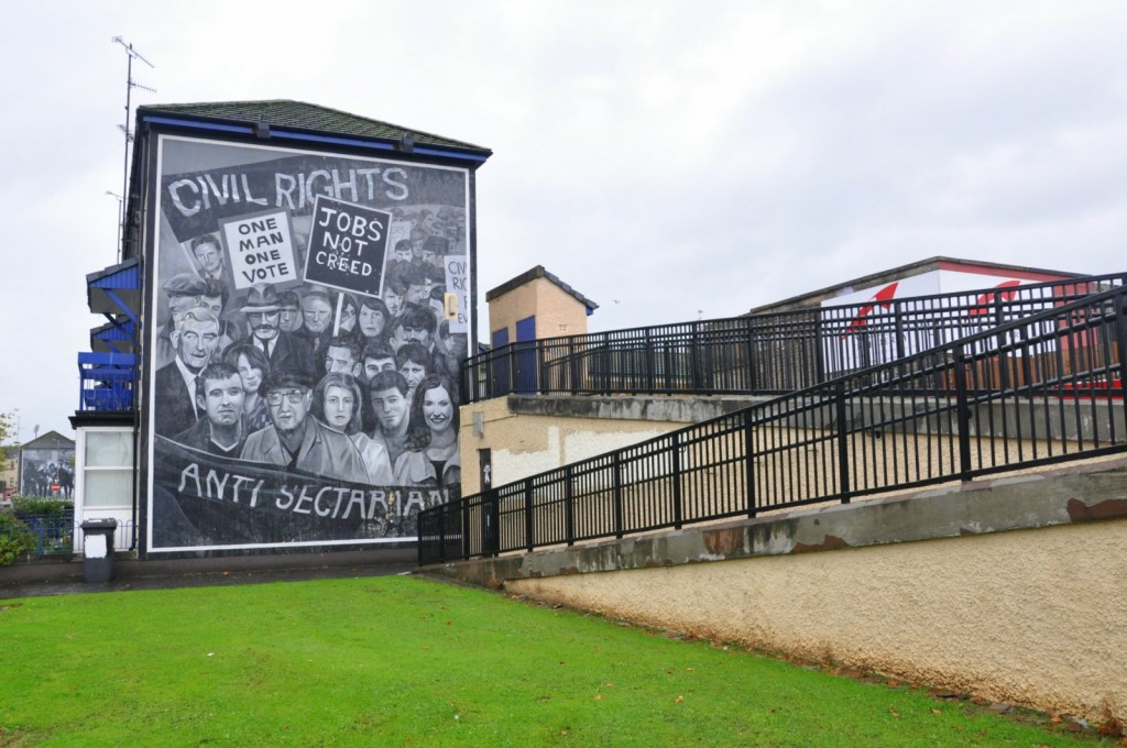 irlande nord free derry mural
