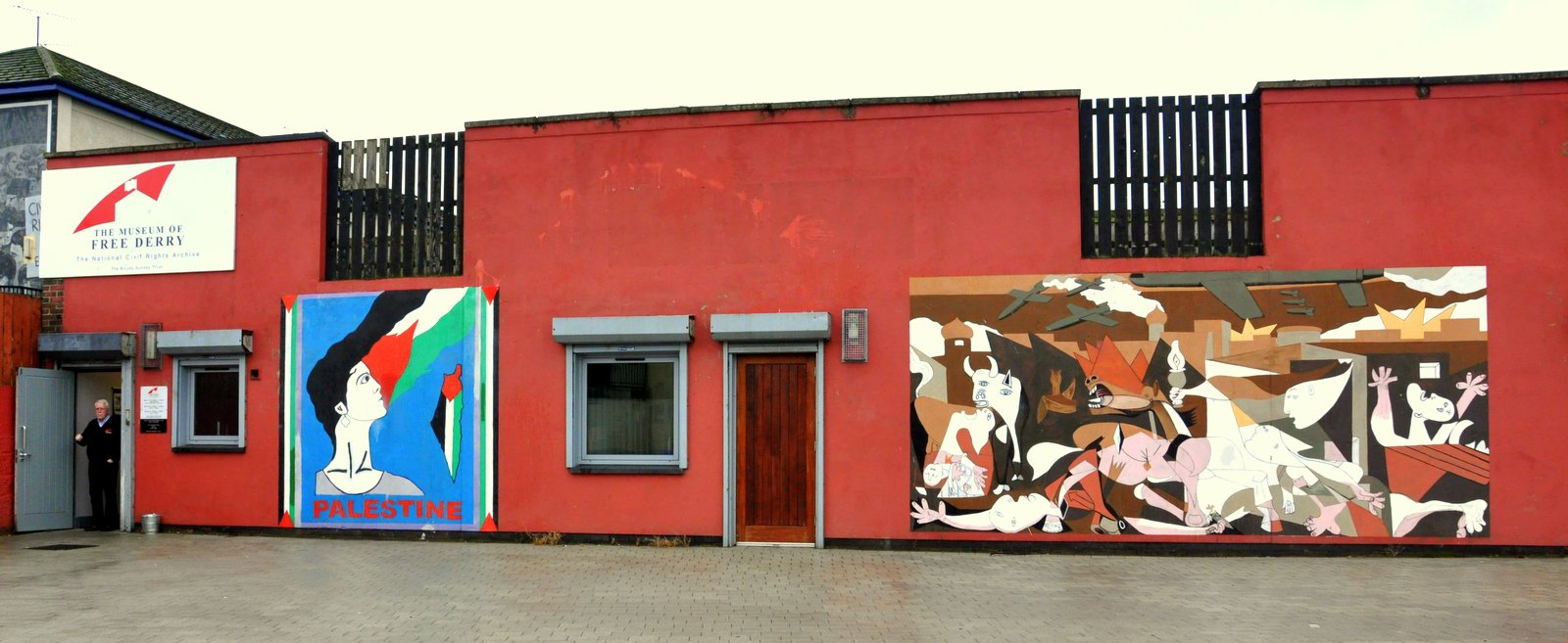 Le musée de Free Derry à Derry