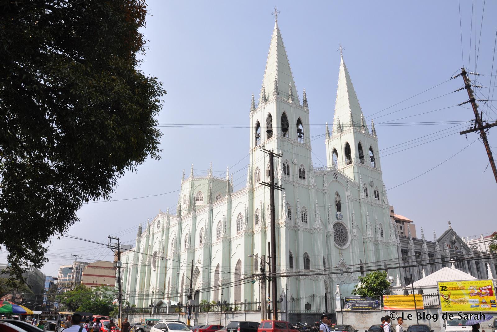 La basilique d'acier de Manille, Saint-Sébastien