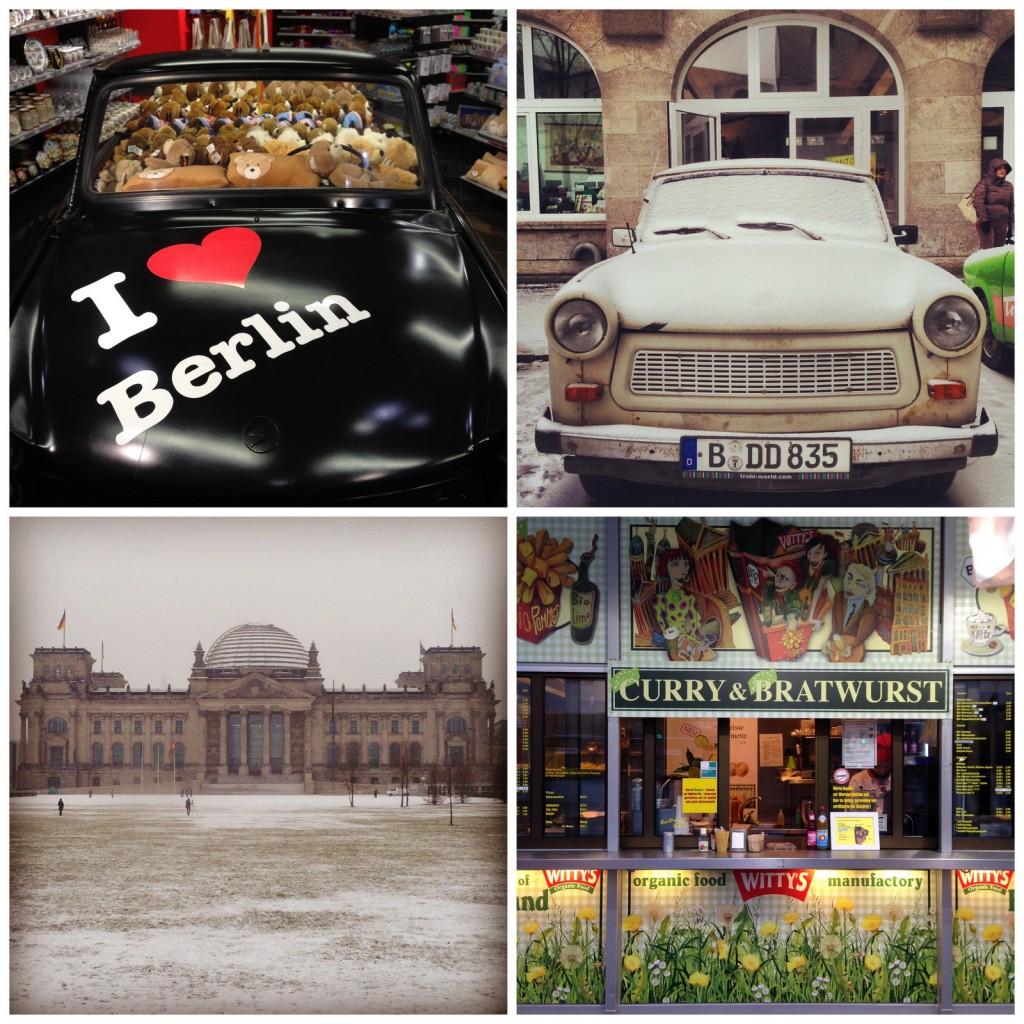 I love Berlin! Ses Trabant, son Reichstag sous la neige et ses curry wurst!