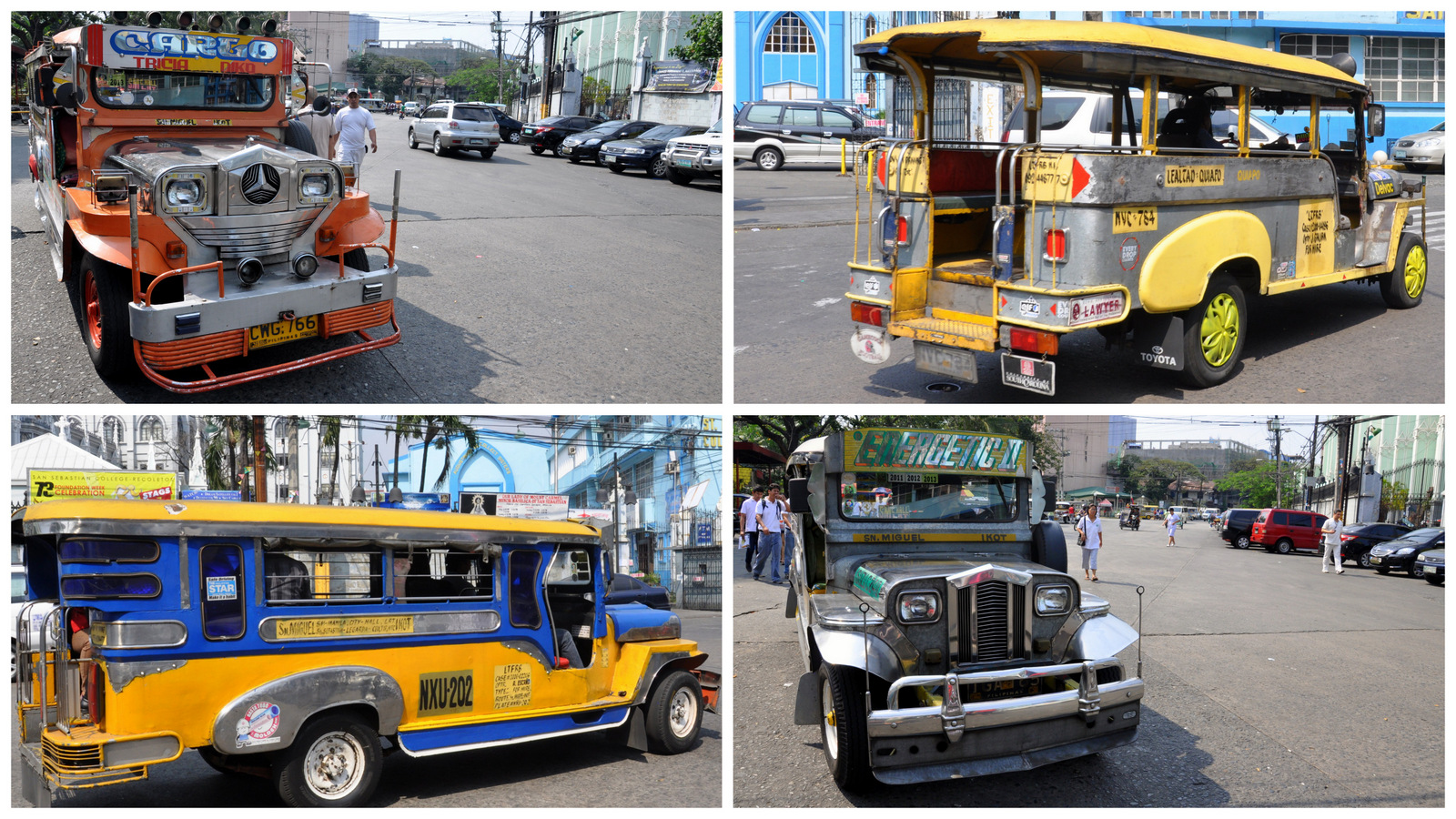 philippines manille jeepney tuning-montage
