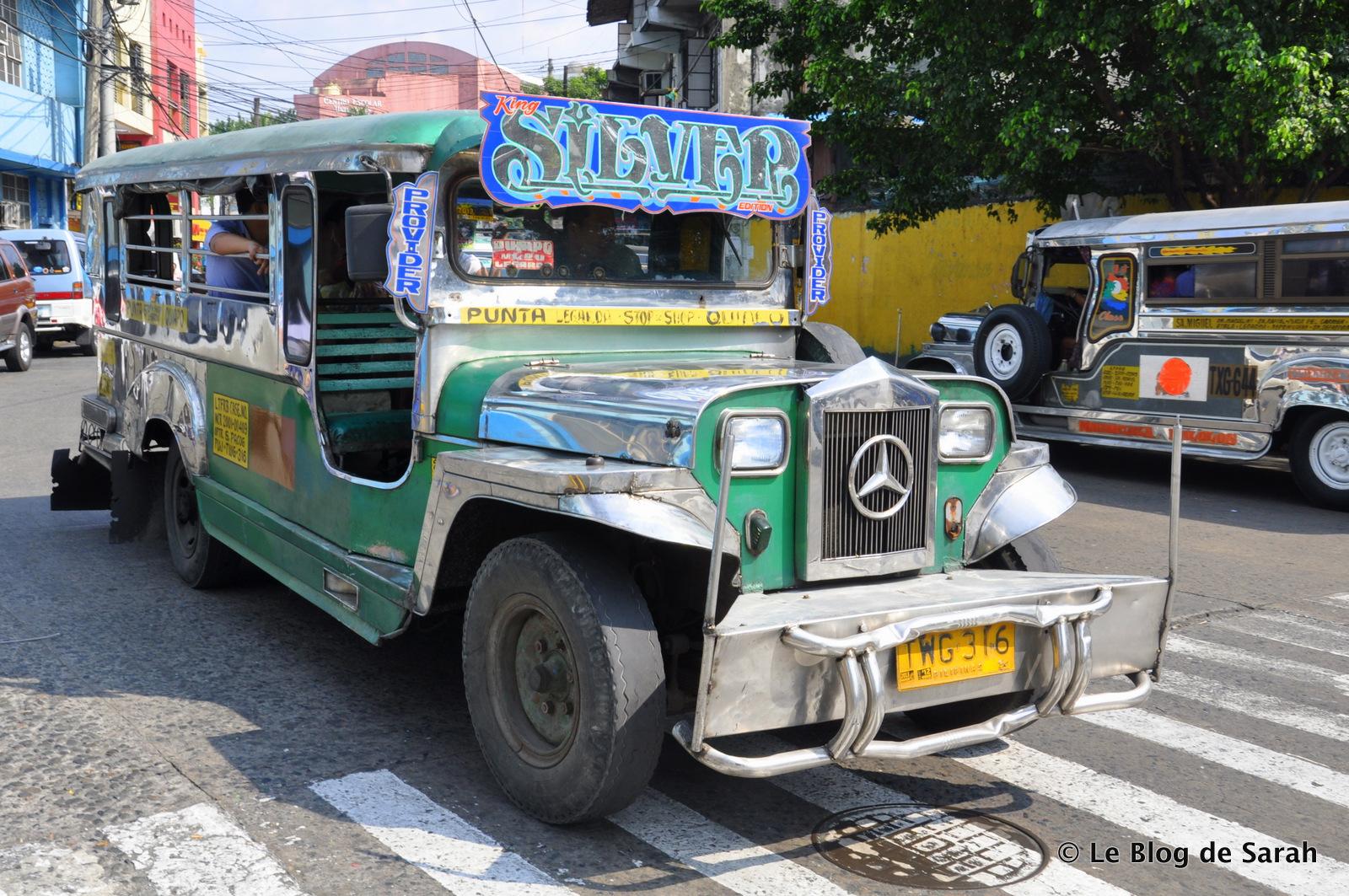 Un jeepney à Manille