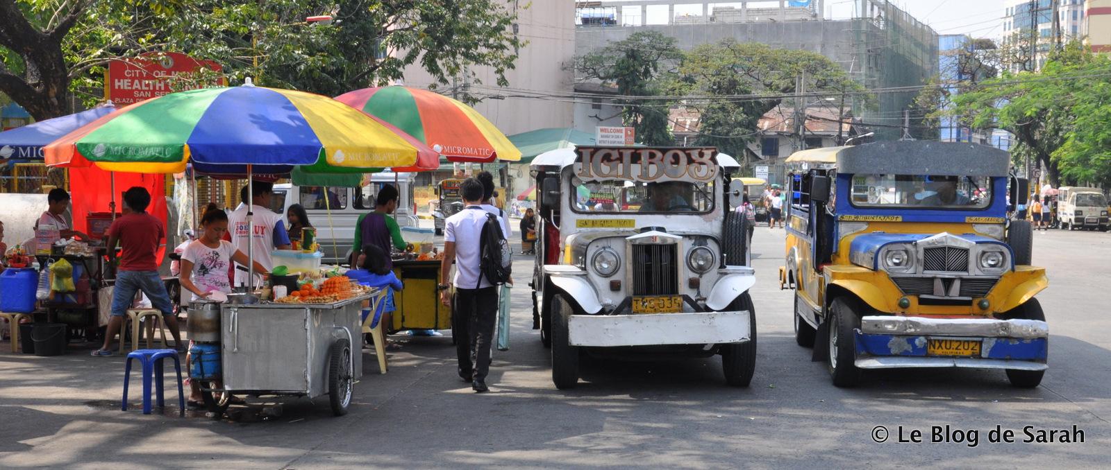Des jeepneys à Manille