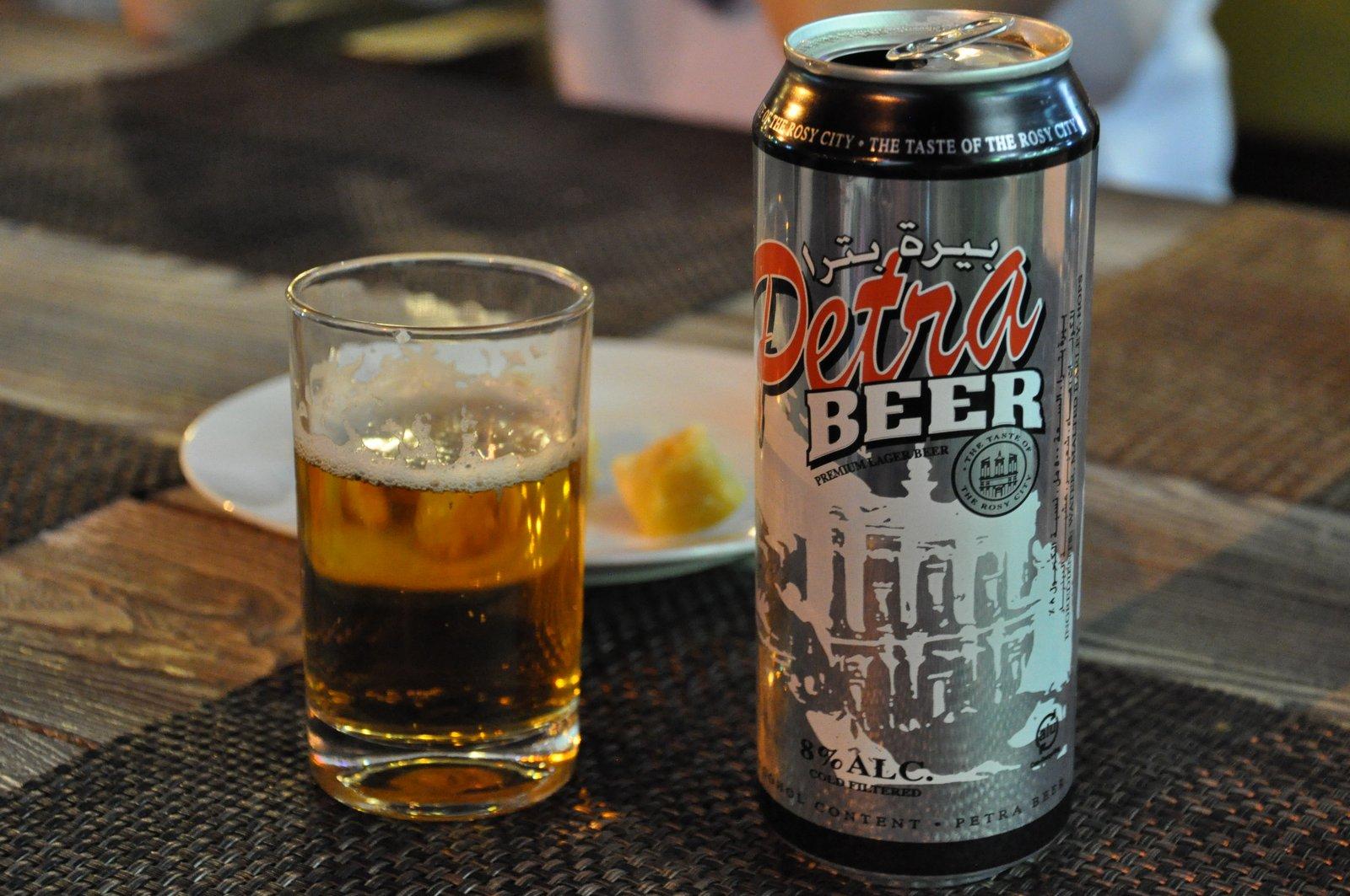 jordanie biere petra beer
