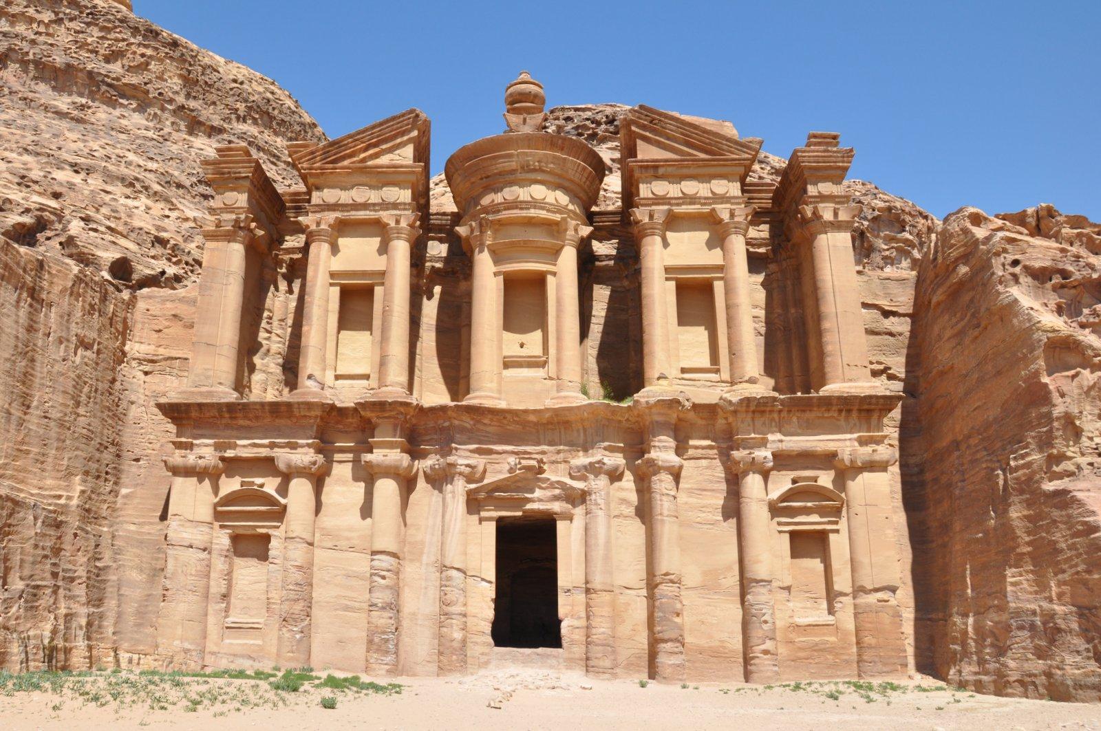 Le monastère Al-Deir à Petra
