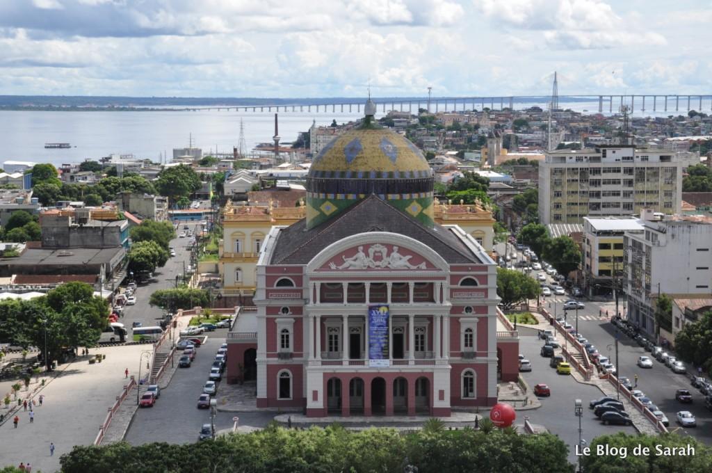 L'Opéra de Manaus, en plein milieu de l'Amazonie au Brésil