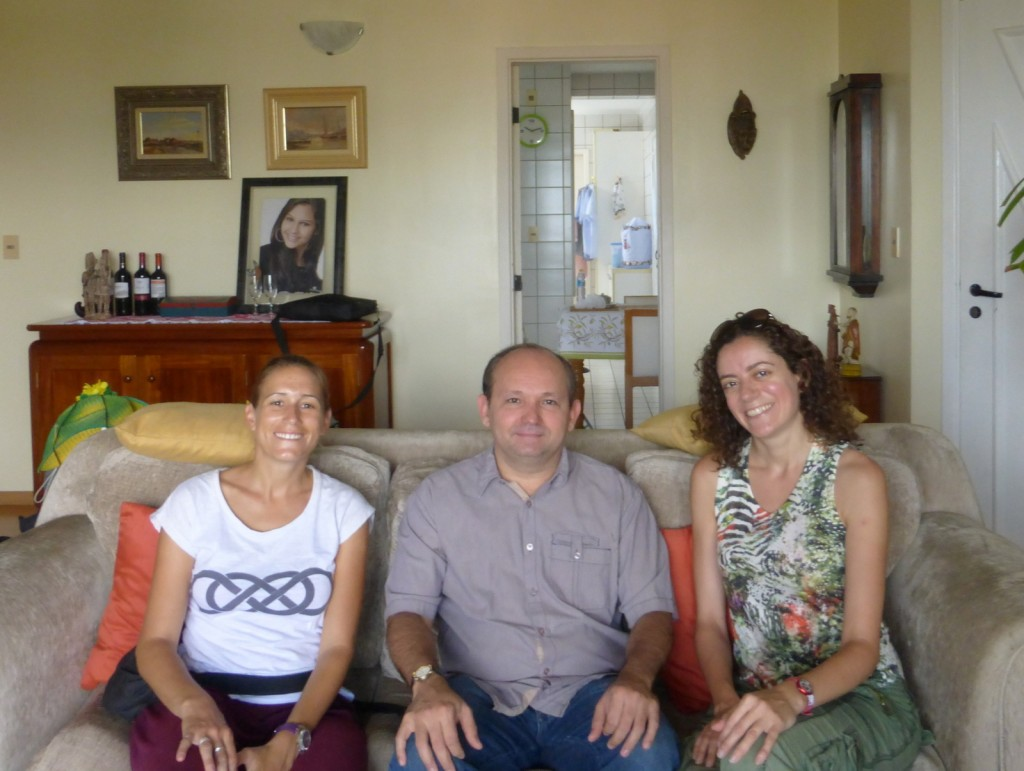 Avec notre hôte Balark, chez lui, à Manaus