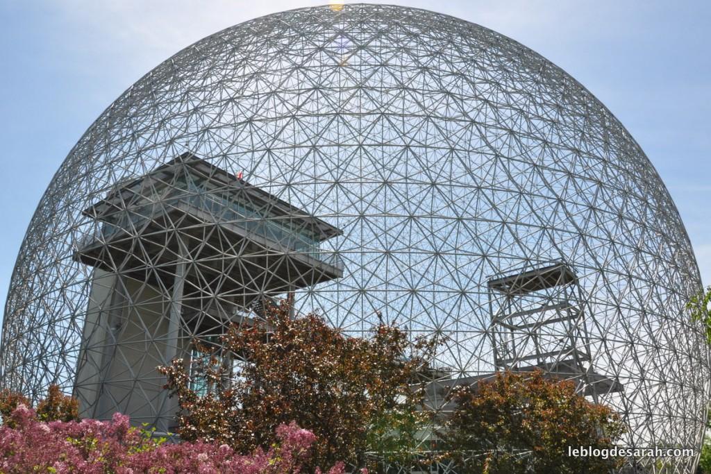 La biosphère au parc Jean-Drapeau