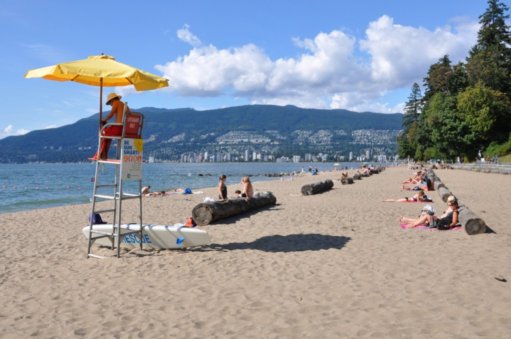 plage second beach vancouver