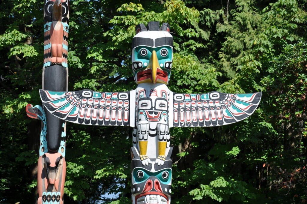 totem stanley park vancouver