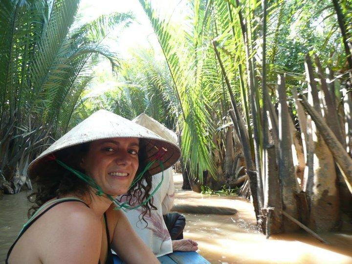 Voyage au Vietnam sur un bateau dans le delta du Mékong