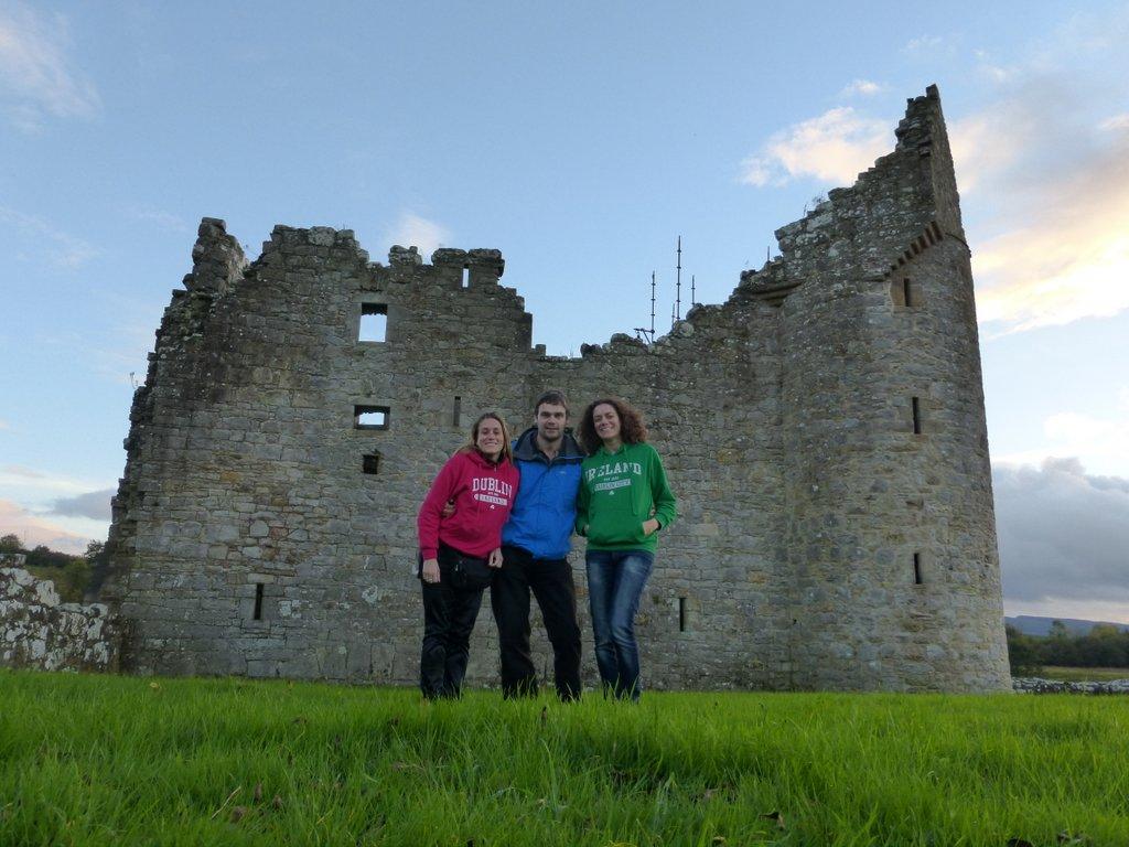 Visite du Monea Castle dans le Fermanagh