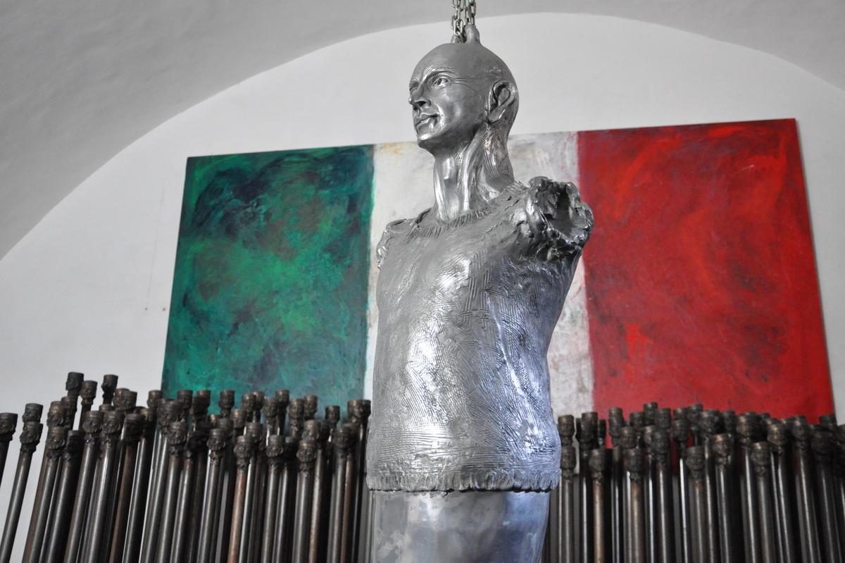 Atelier d'art de Lello Esposito à Naples