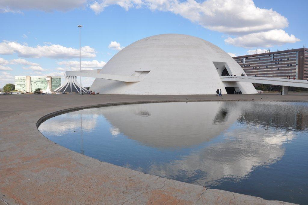 Le musée national de Brasilia