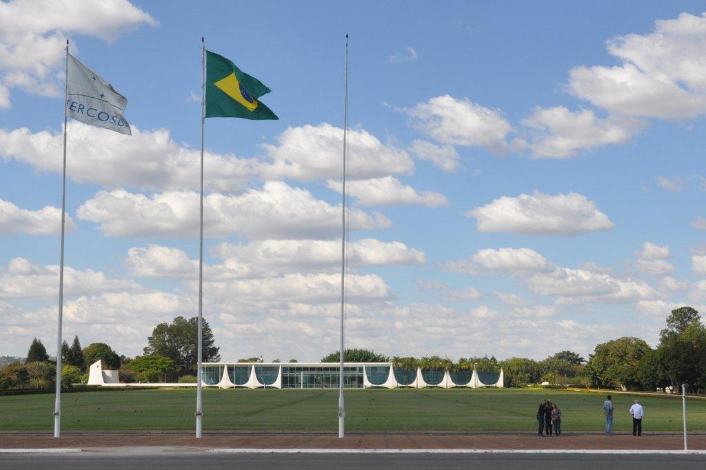 Le Palais présidentiel de Brasilia