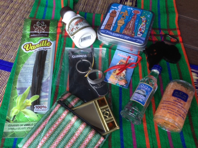 Ma travel-box à gagner: 10 souvenirs en provenance de 5 continents