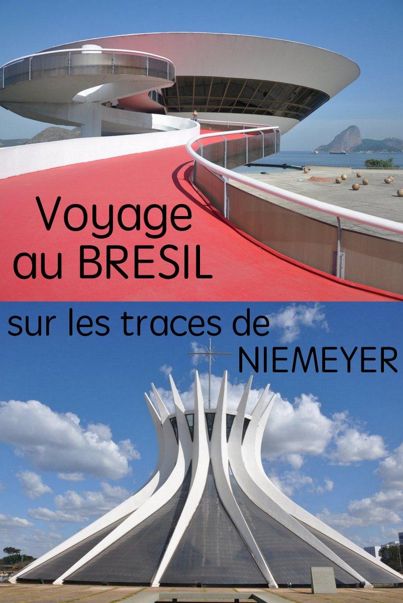 Voyage au Brésil, de RIo à Brasilia, sur les traces d'un des plus grands architectes du XXe siècle, Oscar Niemeyer