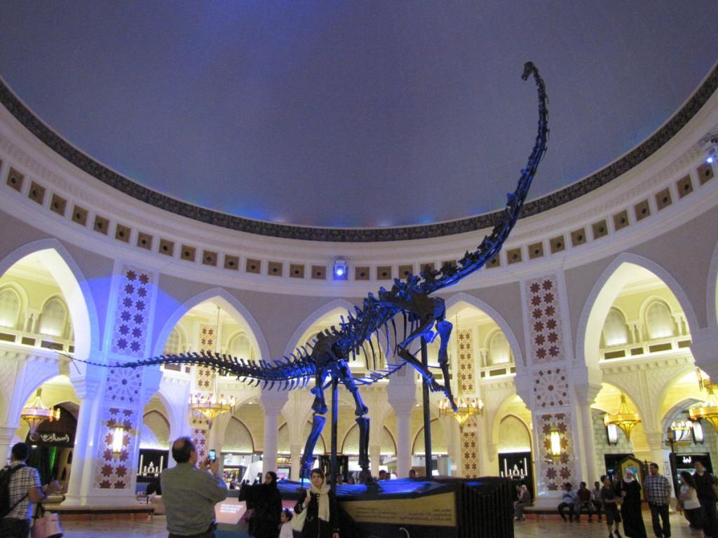 dubai-mall-dinosaure