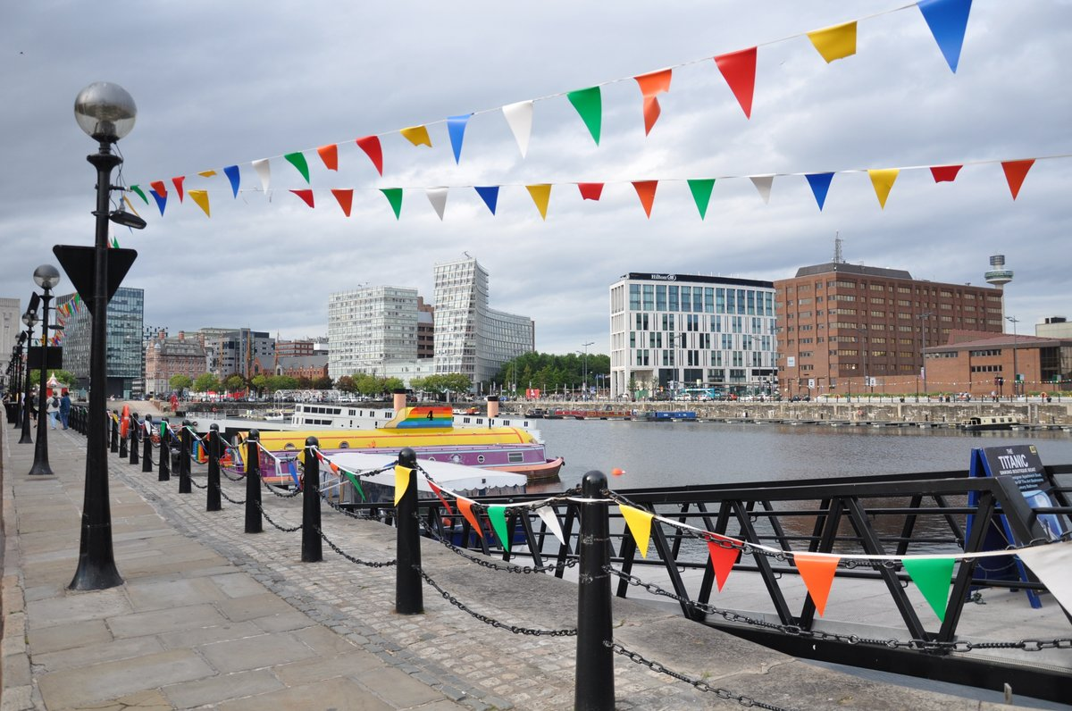 Les docks rénovés du port de Liverpool
