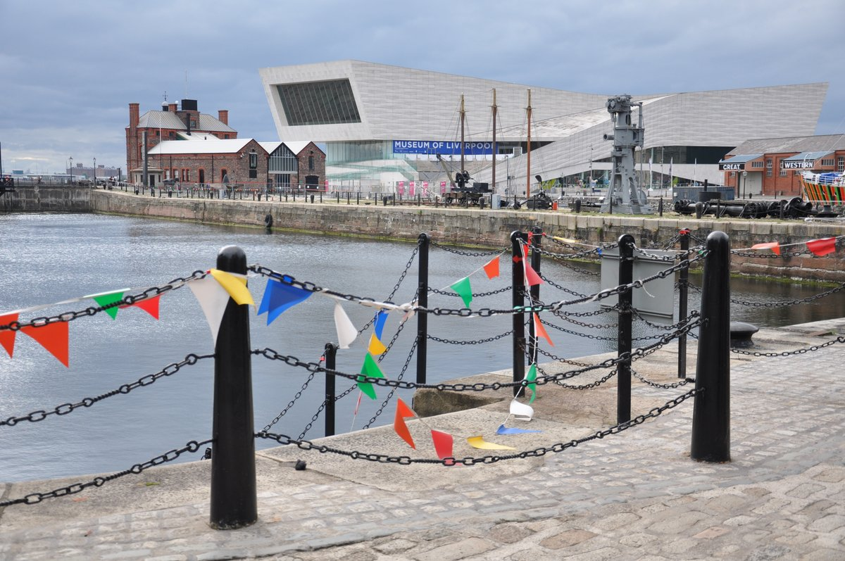 Le Museum of Liverpool sur le Waterfront